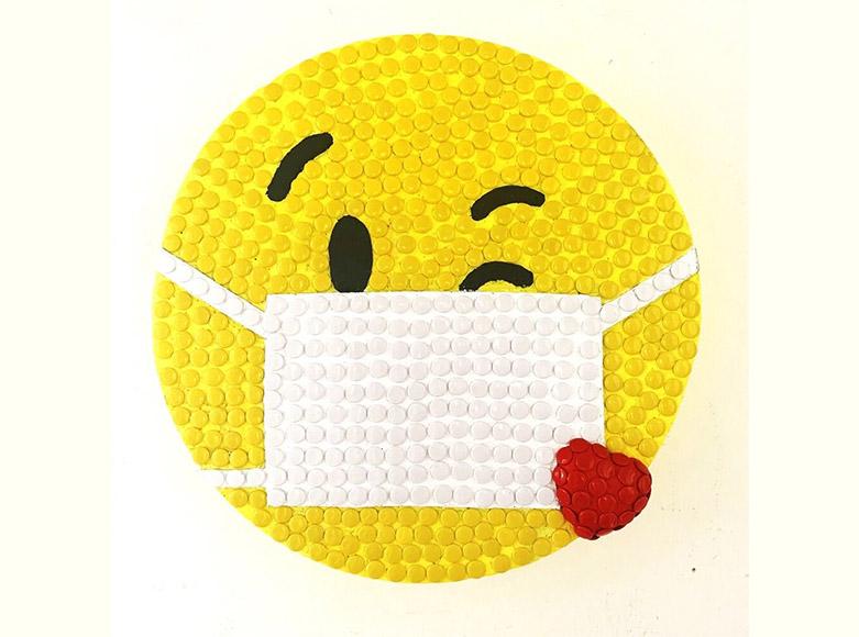 Emoji Peek-a-Boo Exhibition nhow Milano