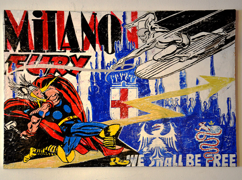 Milano Fury Peek-a-Boo Exhibition nhow Milano
