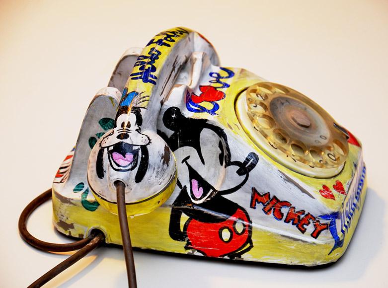 Disney Phone Peek-a-Boo Exhibition nhow Milano